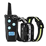 FIMITECH Dog Training Collar, Newest Dog Shock Collar with 1000 ft Remote, Beep, Vibration and Shock 3 Training Modes for Small Medium...