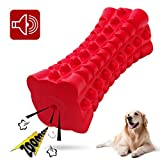 VANFINE Dog Squeaky Toys Almost indestructible Tough durable dog toys dog chew toys for large dogs aggressive chewers squeaky toys for...