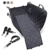URPOWER Dog Seat Cover Car Seat Cover for Pets 100%Waterproof Pet Seat Cover Hammock 600D Heavy Duty Scratch Proof Nonslip Durable Soft...