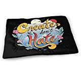 Younter Mossnike Create Don't Hate Medium Washable Dog Training Mat, Waterproof and Leakproof, Absorbent Dog Mat.31 x21