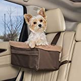 PetSafe Happy Ride Booster Seat - Dog Booster Seat for Cars, Trucks and SUVs - Easy to Adjust Strap - Durable Fleece Liner is Machine...