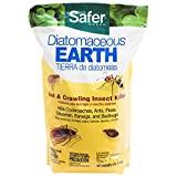 Safer 51703 Diatomaceous Earth-Bed Bug Flea, Ant, Crawling Insect Killer 4 lb