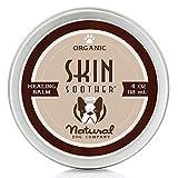 Natural Dog Company - Skin Soother | Organic, All-Natural Healing Balm - Treats Hot Spots, Bacterial Folliculitis, Dermatitis,...