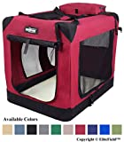 EliteField 3-Door Folding Soft Dog Crate, Indoor & Outdoor Pet Home, Multiple Sizes and Colors Available (20' L x 14' W x 14' H,...