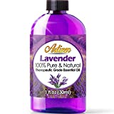 Artizen Lavender Essential Oil (100% PURE & NATURAL - UNDILUTED) Therapeutic Grade - Huge 1oz Bottle - Perfect for Aromatherapy,...