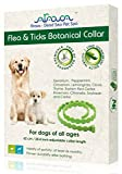 Arava Flea & Tick Prevention Collar - for Dogs & Puppies - Length-25'' - 11 Natural Active Ingredients - Safe for Babies & Pets -...