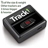 Tracki 2020 Model Mini Real time GPS Tracker. Full USA & Worldwide Coverage. For Vehicles, Car, Kids. Magnetic Hidden small Portable...