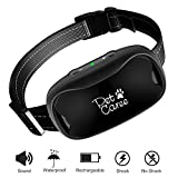 Petkare Bark Collar, [New Version] Humanely Stops Barking with Sound and Vibration. NO SHOCK, Harmless and Humane. Small&Medium Dog...