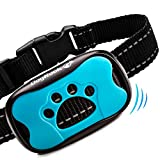 DogRook Bark Collar - Humane, No Shock Training Collar - Action Without Remote - Vibration & Sound Care Modes - For Small, Medium,...