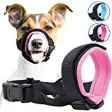 Gentle Muzzle Guard for Dogs - Prevents Biting and Unwanted Chewing Safely – New Secure Comfort Fit - Soft Neoprene Padding – No...