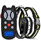 Flittor Shock Collar for Dogs, Dog Training Collar, Rechargeable Dog Shock Collar with Remote, 3 Modes Beep Vibration and Shock...