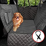 Vailge Extra Large Dog Car Seat Covers, 100% Waterproof Dog Seat Cover for Back Seat with Zipper Side Flap, Heavy Duty seat Cover for...