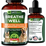 SafeBay Dog Supplement and Cat Supplement Premium Quality - 1200 Drops 2 Oz - Calendula for Dogs, Elderberry for Dogs and Cats Too!...
