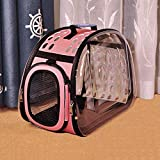 2D8V Lightweight Pet Carrier Bag, Soft-Sided Accessories Portable Folding Dog Cat Puppy Travel Fabric Crate Cage Foldable (Color : B,...
