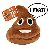 Poop Emoji Farting Plush Toy - Makes 7 Funny Fart Sounds – Simply Squeeze Fart Buddy to Activate & Hear Him Fart - Fun Dog Toy - New...