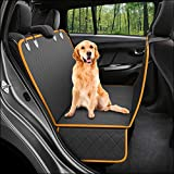 Dog Back Seat Cover Protector Waterproof Scratchproof Nonslip Hammock for Dogs Backseat Protection Against Dirt and Pet Fur Durable...