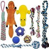 MLCINI Dog Toys Plush Dog Squeaky Toys Rope Dog Toy Dog Chew Toys Dog Toys for Small Medium Large Dogs Puppy Toys Dog gift Set Dog Toy...